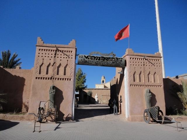 Museu de cinema de Ouarzazate.