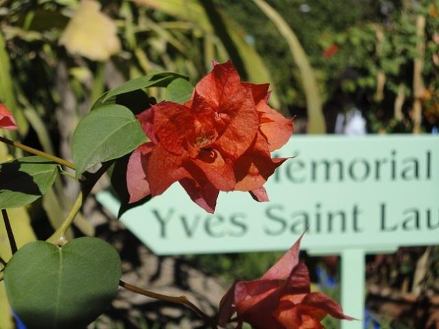 Memorial Yves Saint Laurent no jardim Majorelle.